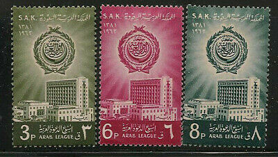 Saudi Arabia Scott    249  -  251   Mint Hinged