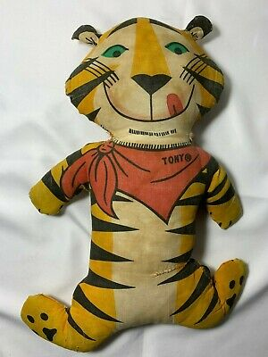 Vintage Tony The Tiger Advertising Pillow Kellogg Co 1973