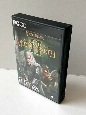 Lord of the Rings: The Battle for Middle-Earth II 2 (PC, with key)