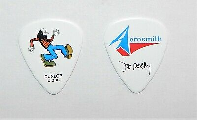 2019 AEROSMITH Joe Perry Signature Guitar Pick American PICKERS VAN Murals! RARE