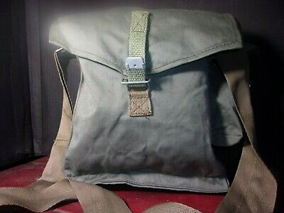 New Surplus Polish Military Large Gas Mask Shoulder Bag