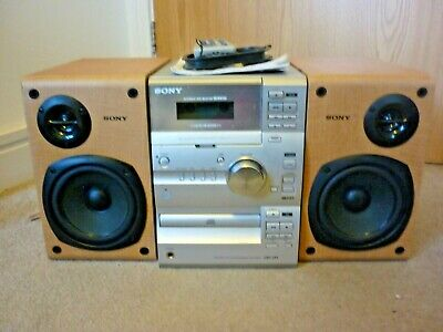 Sony CMT-CP1 Micro HiFi System with Manual Remote & Aerial - Excellent Condition