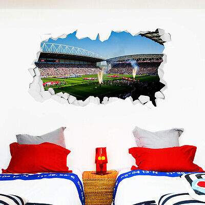 Any flat surface Glass Wigan Warriors Rugby Wall Art Sticker Car Vinyl Decal