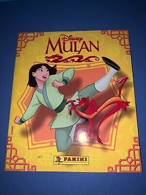 Album Disney Mulan - A Medio Completar - Perfecto Estado