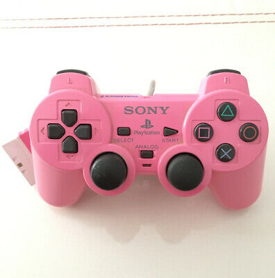 Mando Sony Dualshock 2 Playstation 2 Ps2 Rosa