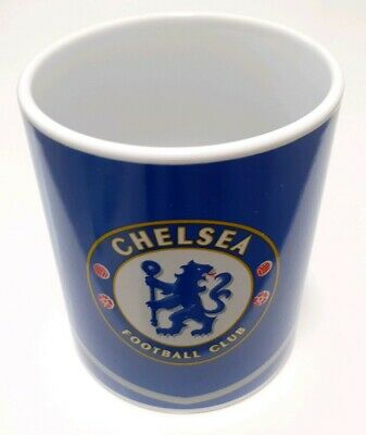 Chelsea FC Football Club Supporters Blue Logo Mug Cup - Excellent Condition
