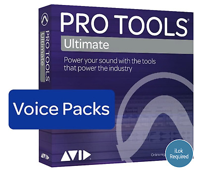 Avid Pro Tools Ultimate - 128 Voice Pack Perpetual License (Download)