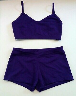 NWT CAPEZIO SPORTSBRA 3 COLORS LADIES XLge Great Support Heavyweight shiny lycra