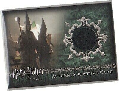 Harry Potter Goblet Of Fire - C13 Death Eaters Robe Costume Card - IMPERFECT