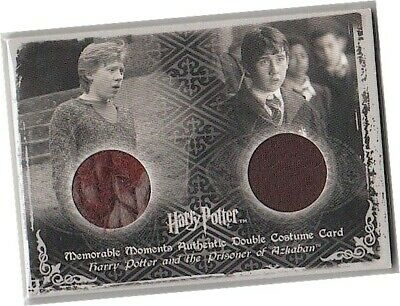 Harry Potter Memorable Moments 2 - Ci3 Ron/Neville Dual Costume Card - IMPERFECT