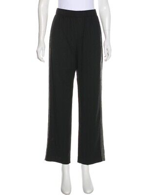 Vince. Black High Rise Wide Leg Pull On Trousers Pants Size Large