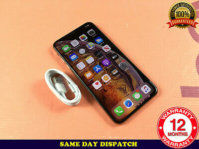 Grade A++ Apple iPhone XS Max - 512GB Silver (Unlocked) A2101 (GSM) - Ref N224
