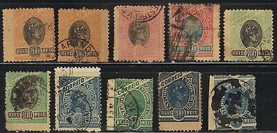 BRAZIL BRASIL BRESIL MADRUGADA 10 copies with wide wing margins - SEE SCAN!!