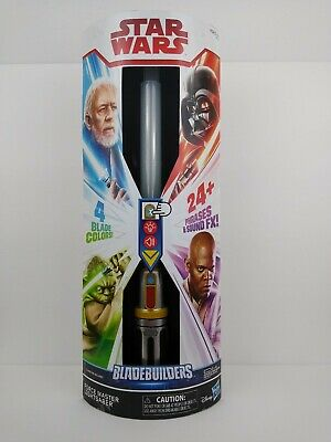Star Wars Blade Builders Force Master Lightsaber - Connector Included - NEW
