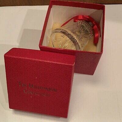 Waterford Crystal Retired Millennium Collection Universal Wishes Bell 2000