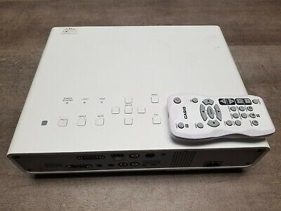 Casio XJ-M250 Projector. 1336hrs used.