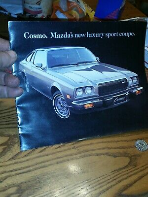 1976 Mazda Cosmo  New Luxury Sport Coupe Sales Brochure