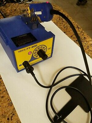 Hakko FT-800 and FT-8001 Hot Thermal Wire Stripper Station Tool with tips