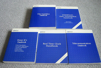 National Data Books - 1992-94 Data Acquisition, Interface, Clock, Power, Telcom