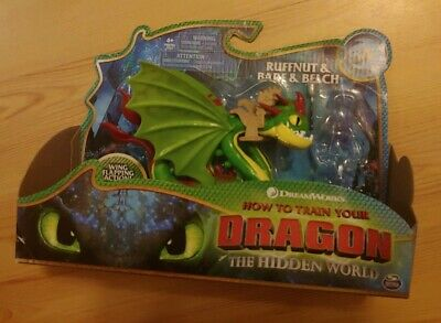 How to Train Your Dragon Hidden World *no Ruffnut* Barf & Belch Figure. Scaled