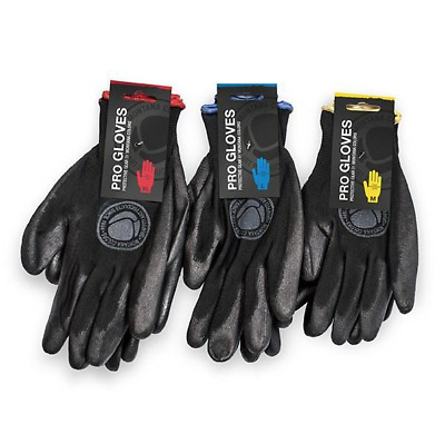 MTN Montana Colors Nylon PRO GLOVES - LARGE SIZE WITH BLUE TRIM!!!!!!!!!