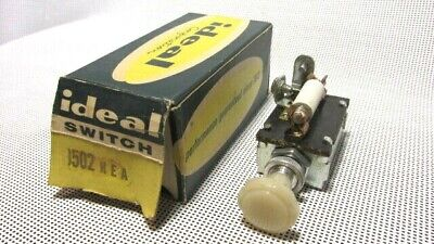 NOS IDEAL 2 SPEED HEATER CONTROL SWITCH, 1502 HEA, Made In the U.S.A.