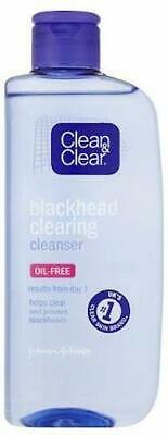 Clean & Clear Blackhead Clearing Cleanser 200ml Prevents Spots Oil Free Face