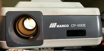 Marco CP-690E Medical Optometry Automatic Chart Projector NO REMOTE