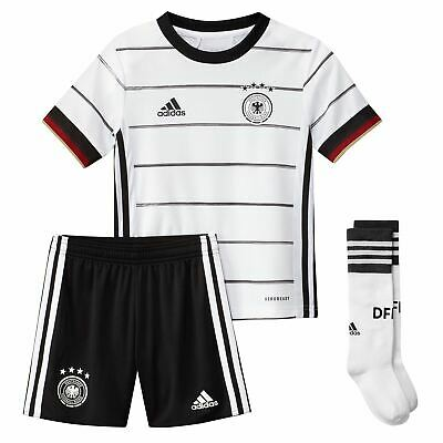 adidas Kids Boys Germany Home Mini Kit 2020 International Minikit Lightweight