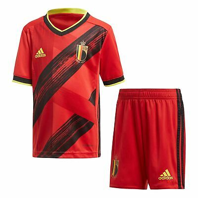 adidas Kids Boys Belgium Home Mini Kit 2020 International Minikit Football
