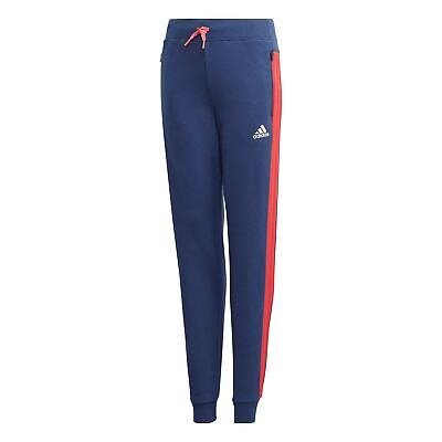 adidas Kids Girls AClub Pant Juniors Fleece Jogging Bottoms Trousers Pants