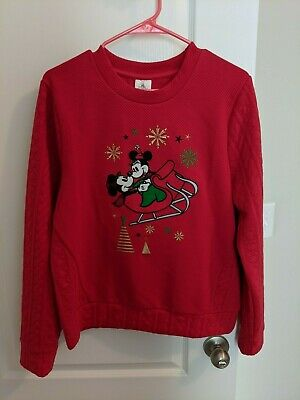 DISNEY STORE CHRISTMAS 2018 SWEATER for MEN Holiday MICKEY