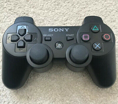 Genuine Official Black PS3 DualShock 3 SIXAXIS Controller Black