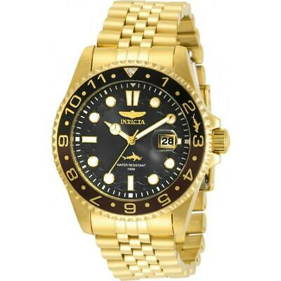Invicta 30622 Pro Diver 43MM Men's Gold-Tone Stainless Steel Watch
