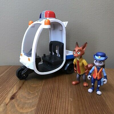 Disney Zootopia Judy Hopps Meter Maid and ZPD Vehicle