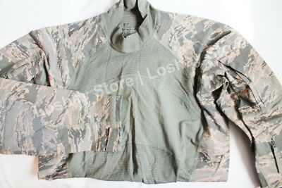 NEW Military Issue ABU Airman Battle Shirt XL Flame Resistant Massif AF Approved