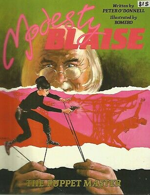 Modesty Blaise: Puppet Master by Peter O'Donnell & Enric Badia Romero