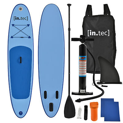 In.tec Stand Up Paddle Tabla 305cm Tabla de Surf Sup Tablero de Paddel Olas