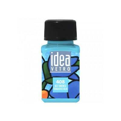 Color Blu Turquesa para Vidrio Idea Maimeri 60ML
