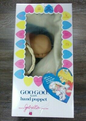Vintage Goo Goo Kids Hand Puppet 1st Edition by Gabriella 1984 New in Box