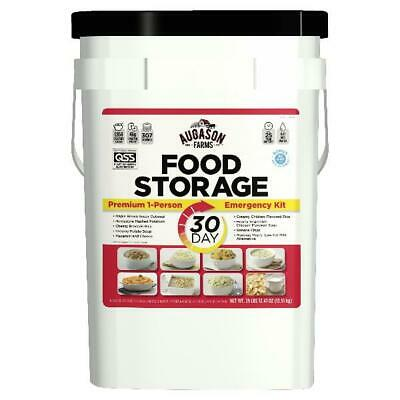 Augason Farms 1-Person 30-Day Emergency Food Supply - QSS-Certified