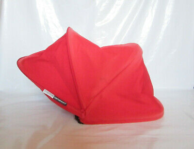 Bugaboo Cameleon Extendable Hood Fabric and Rods Red