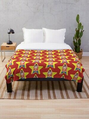 Steven Universe Red Yellow Star Comfy Throw Blanket - Cartoon TV Show - 3 Sizes