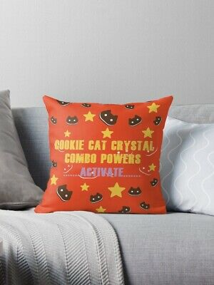 Steven Universe Cookie Cat Powers Activate - Yellow Star Bed Sofa Cushion Pillow