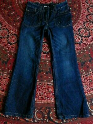 Kids' blue denim jeans/ Next/ age 9/ 134 cm/ adjustable waist/ pockets/ used