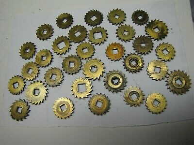30 x Old Clock Ratchet Wheels