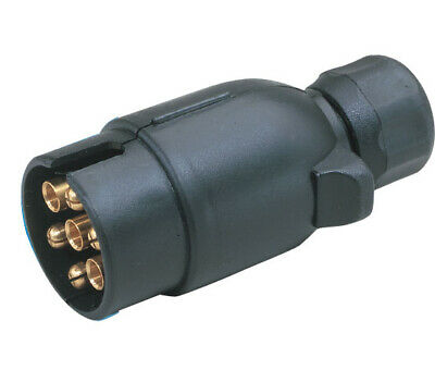 Car Light Replacement Plug for Caravans and Trailers Standard 7 Pins Connection