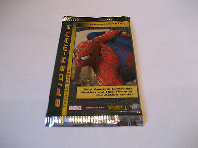 Marvel Spider- Man 2 Trading Card  5 Card  Per Pack (Sealed)