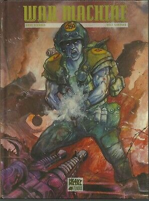 Rogue Trooper: War Machine by Dave Gibbons & Will Simpson (Hardcover)