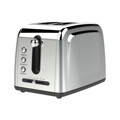 Brentwood Appliances TS-226S Extra Wide Slot 2-Slice Toaster